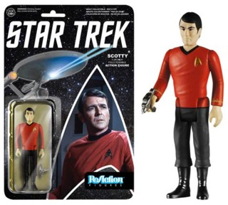 Star Trek Collectibles - Montgomery Scotty Scott ReAction Figure