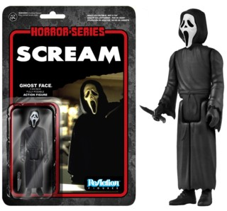 Horror Movie Collectibles - Ghost Face from Scream ReAction Figure