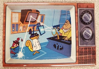 Television Character Collectibles - Hanna Barbera's Secret Squirrel TV Magnet