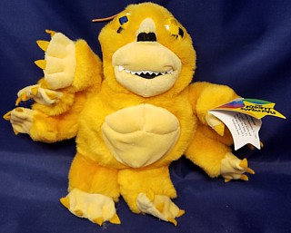 Television from the 1960's - 1970's Collectibles - Sid & Marty Krofft - Seymour Spider Beanie Plush Bean Bag