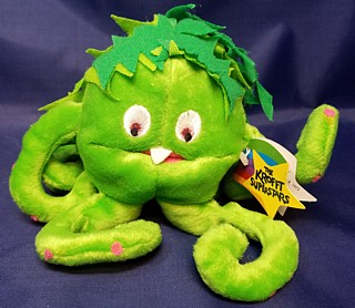 Television from the 1960's - 1970's Collectibles - Sid & Marty Krofft - Sigmund the Sea Monster Beanie Plush Bean Bag