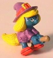 Smurf Collectibles - Smurfette Witch Figure