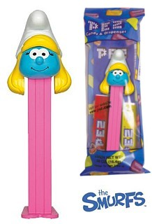 Smurf Collectibles - Smurfette Pez Dispenser