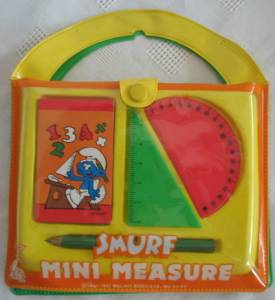 Smurf Collectibles - Smurf Mini Measure Kit