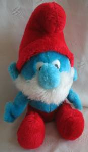 Smurf Collectibles - Papa Smurf Plush