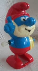 Smurf Collectibles - Papa Smurf Windup Walker