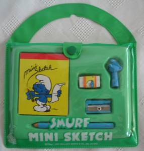 Smurf Collectibles - Smurf Mini Sketch Kit