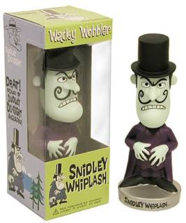 Dudley Do Right Collectibles - Snidley Whiplash Bobble Head Bobber Nodder Doll