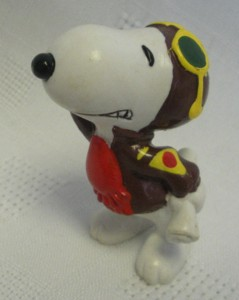 Snoopy Collectibles - Snoopy Flying Ace PVC Figure