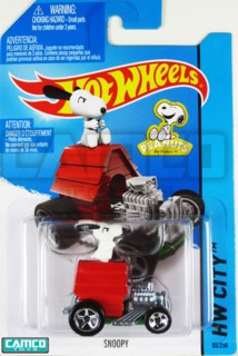 Snoopy and Peanuts Collectibles - Snoopy Red Baron Doghouse Hot Wheels