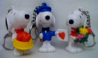Snoopy Collectibles - Snoopy Key rings