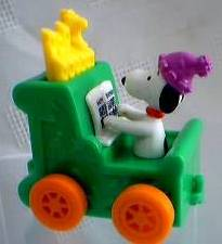 Snoopy Collectibles - Snoopy Pipe Organ Birthday Train