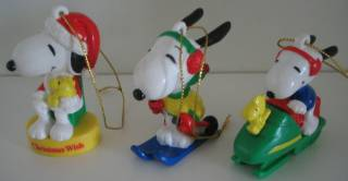 Snoopy Collectibles - Snoopy Christmas Ornaments