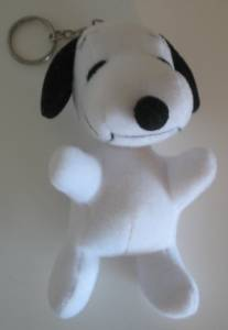 Peanuts Collectibles - Snoopy Plush Keyring
