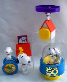 Snoopy Collectibles - Fast Food Toys