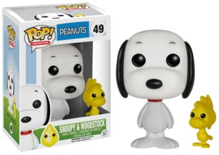 Snoopy and Peanuts Collectibles - Snoopy and Woodstock POP Vinyl Figure