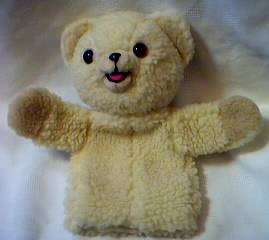 Advertising Collectibles - Snuggle Bear Hand Puppet