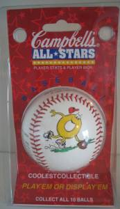 Food Collectibles - Spaghetti-os Baseball Campbell's All-Stars