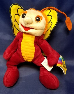 Television from the 1960's - 1970's Collectibles - Sid & Marty Krofft - Bugaloos Sparky Beanie Plush Bean Bag