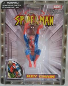 Super Hero Collectibles - Spiderman Key Chain Key Ring
