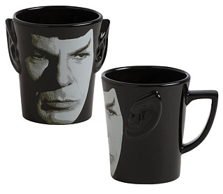 Star Trek Collectibles - Spock Sculpted Coffee Mug