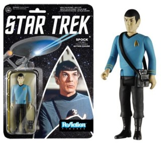 Star Trek Collectibles - Spock ReAction Figure