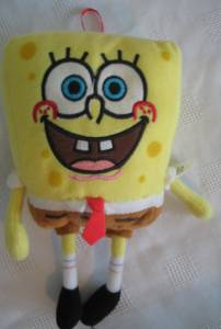 Cartoon Television Character Collectibles - Sponge Bob Square Pants Plush