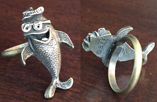 Starkist Collectibles - Charlie Tuna Metal Ring