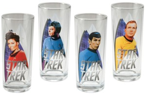 Star Trek Collectibles - Original TV Series Cast Collectible Glasses