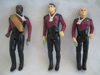 Star Trek Collectibles - Plastic Figures