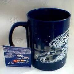 Star Trek Collectibles -The Next Generation U.S.S. Enterprise Puzzle Mug