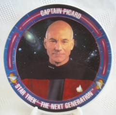 Star Trek Collectibles - Captain Kirk Plate