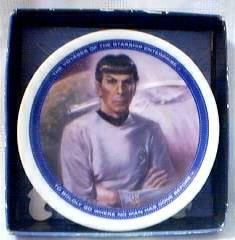 Star Trek Collectibles - Mr. Spock Plate