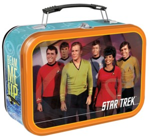 Star Trek Collectibles - Original Cast Metal Lunchbox Tote