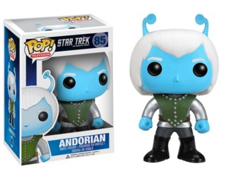 Star Trek Collectibles - Andorian Vinyl Figure