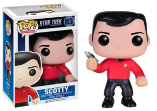Star Trek Collectibles - Scotty Vinyl Figure