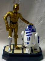 Star Wars Collectibles - R2D2 and C3PO Figurine