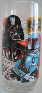 Star Wars Collectibles - Empire Strikes Back ESB Coke Glass