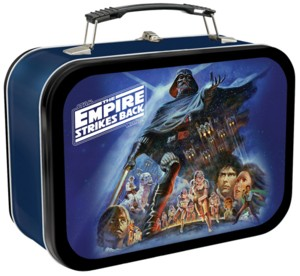 Star Wars Collectibles - ESB Empire Strikes Back Metal Lunchbox Tote