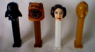 Star Wars Collectibles - Pez Dispensers