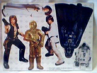 Star Wars Collectibles - Magnetic Playset