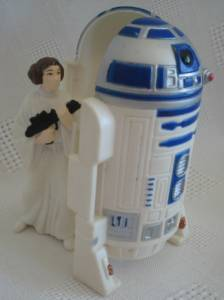 Star Wars Collectibles - Princess Leia and R2D2