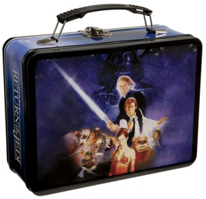 Star Wars Collectibles - ROTJ Return of the Jedi Metal Lunchbox Tote