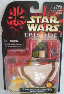 Star Wars Collectibles - Episode One Tatooine Accesory Kit