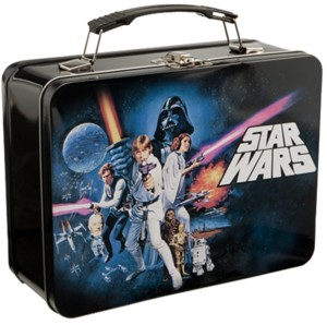 Star Wars Collectibles - A New Hope Metal Lunchbox Tote
