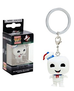 Movies from the 1980's Collectibles Ghostbusters Staypuft Marshmallow Man Pocket POP! Keychain