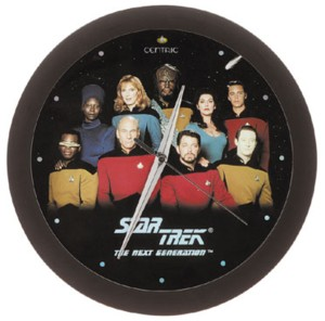 Star Trek Collectibles - Next Generation Cast Clock