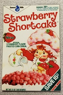 Strawberry Shortcake Cereal Flexible Magnet