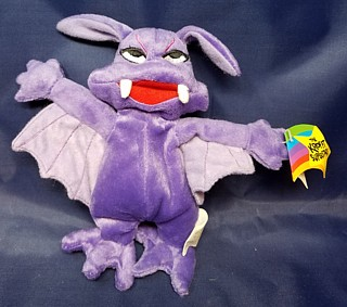 Television from the 1960's - 1970's Collectibles - Sid & Marty Krofft - Stupid Bat Beanie Plush Bean Bag