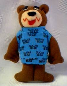 Cereal Collectibles - Sugar Bear Plush